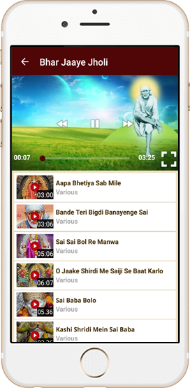 Hindi Sai Baba Bhajan App