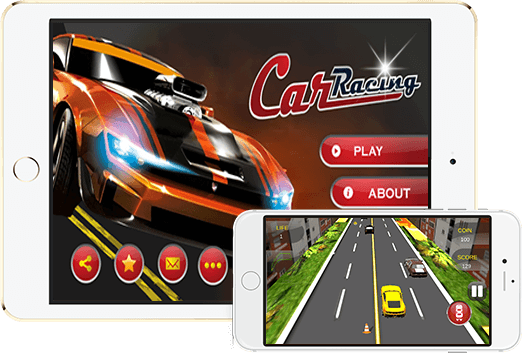Amazing Car Racing Game